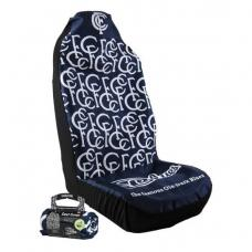 AFL Car Seat Cover - Carlton