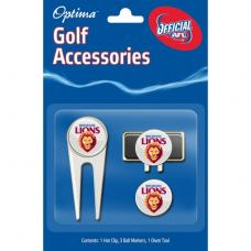 AFL Golf Accessory Pack - Brisbane Lions
