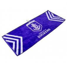 AFL Jacquard Golf Towel - Fremantle
