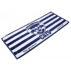 AFL Jacquard Golf Towel - Geelong