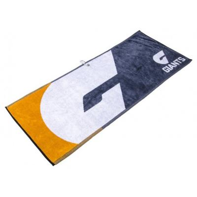 AFL Jacquard Golf Towel - GWS Giants