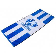 AFL Jacquard Golf Towel - North Melbourne