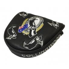 AFL Mallet Putter Cover - Collingwood