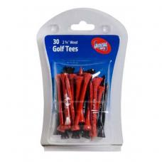 AFL Wooden Golf Tees - St Kilda