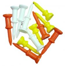 Golf Tees -  Multicolour Mixed