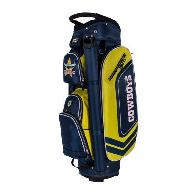 NRL North Queensland Cowboys 2018 Cart Golf Bag