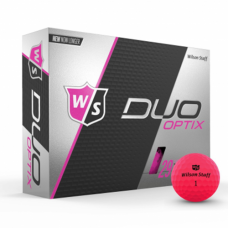 Wilson Staff Duo Optix Pink Golf Balls