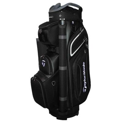 TaylorMade Premium 2020 Cart Bag - Black/White/Grey