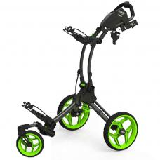 Clicgear Rovic RV1S Golf Buggy - Charcoal/Lime