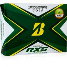 Bridgestone Tour B RXS 2020 Golf Balls - Yellow