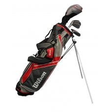 Wilson Deep Red Junior Golf Package 11-14 Years of Age